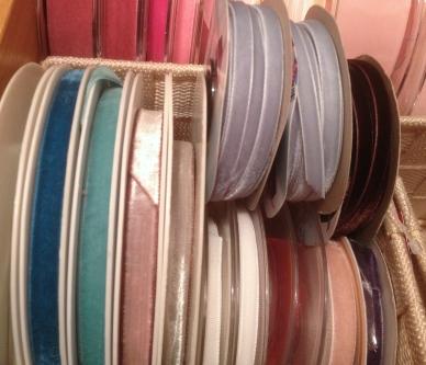 Velvet ribbons