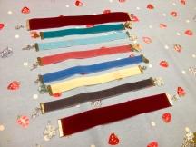 Velvet Bookmarks