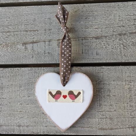 Wooden Hearts Valentines