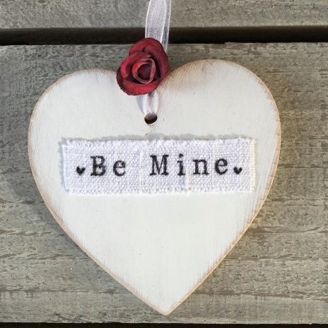 Wooden Heart Valentines