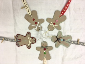 Gingerbread Men Cardholders